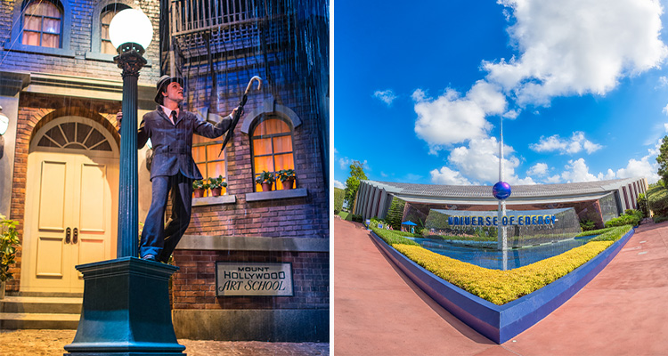 The Great Movie Ride left Universe of Energy Right