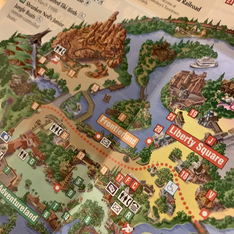 frontierland and liberty square in 1998