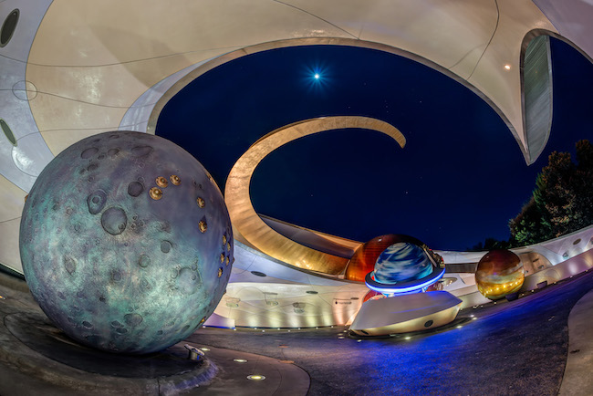 moon outside mission space