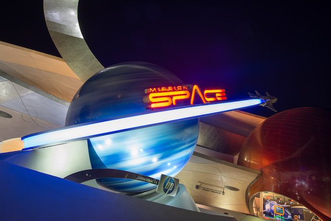 Mission: SPACE outside