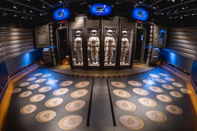 Mission: SPACE inside astronaut suits