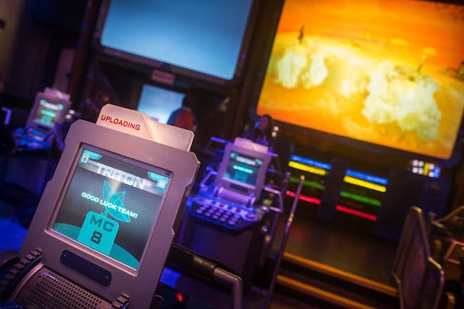 control panel mission space