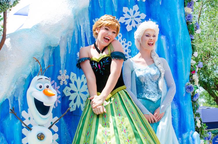 festival of fantasy parade frozen