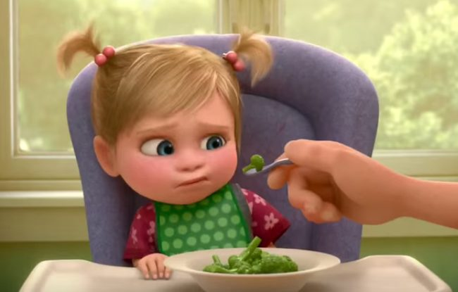 riley from inside out and broccoli
