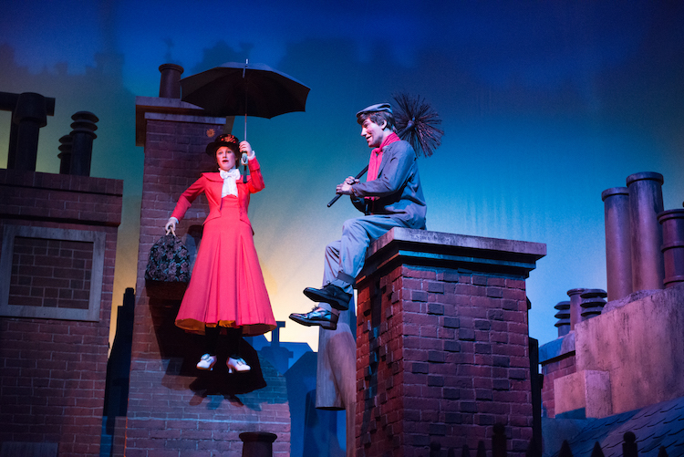 mary poppins on the great movie ride