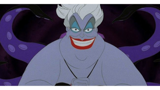 ursula from the little mermaid - disney uncharted adventure finale