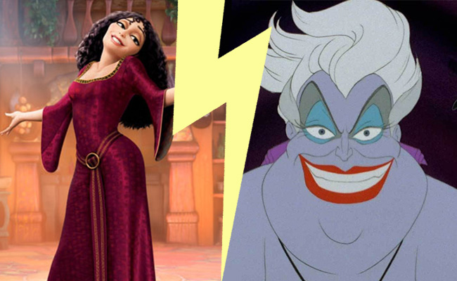 Villain Smackdown Ursula Versus Mother Gothel Wdw Magazine