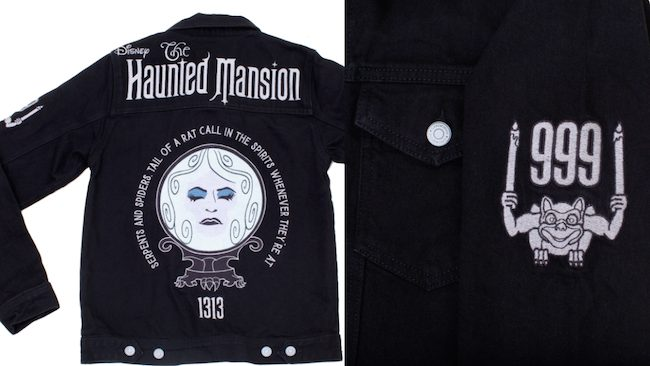 Haunted Mansion Embroidered Jean Jacket