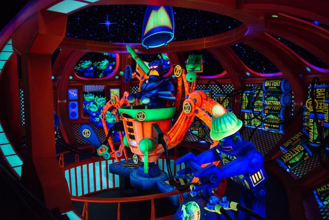 zurg on space ranger ride