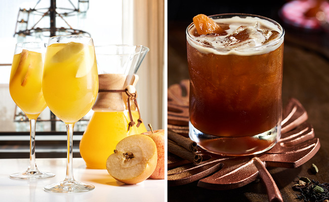 fall cocktails at disney springs