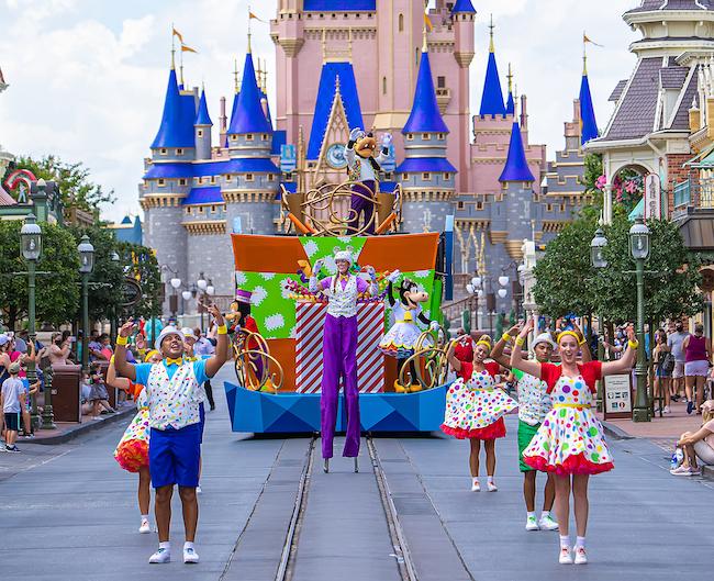 Goofy Magic Kingdom Cavalcade