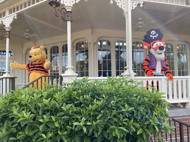 winnie the pooh and tigger in costumes