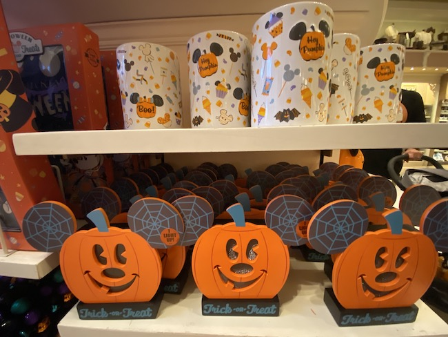 disney halloween and fall merch