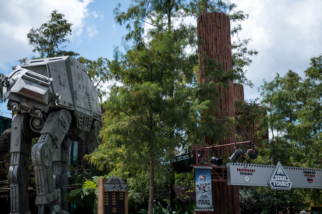 ewok village at hollywood studios Star Tours Facts
