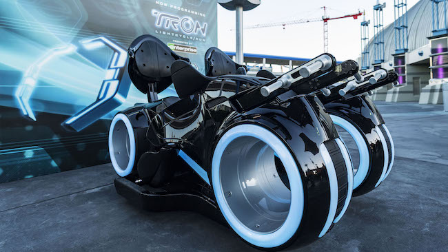 tron lightcycles