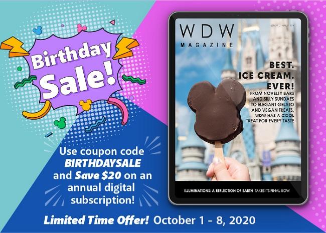 WDW Magazine Sale Digital