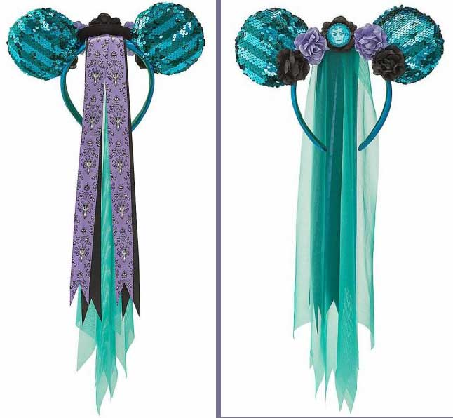Minnie Mouse The Haunted Mansion IN HAND The Main Attraction Ear Headband