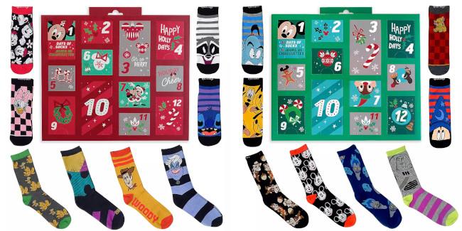 Disney-Advent-Calenders-2020-Socks-ShopDisney