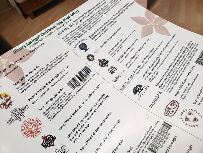 Disney Springs Discounts Deals Christmas Tree Stroll 2020 Blanken