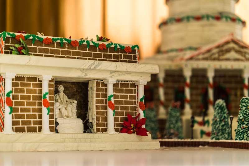 Gingerbread Lincoln Memorial Rich Ramos
