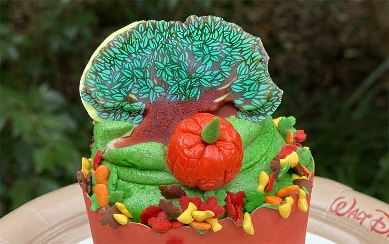 Tree of Life Cupcake Animal Kingdom Chiu