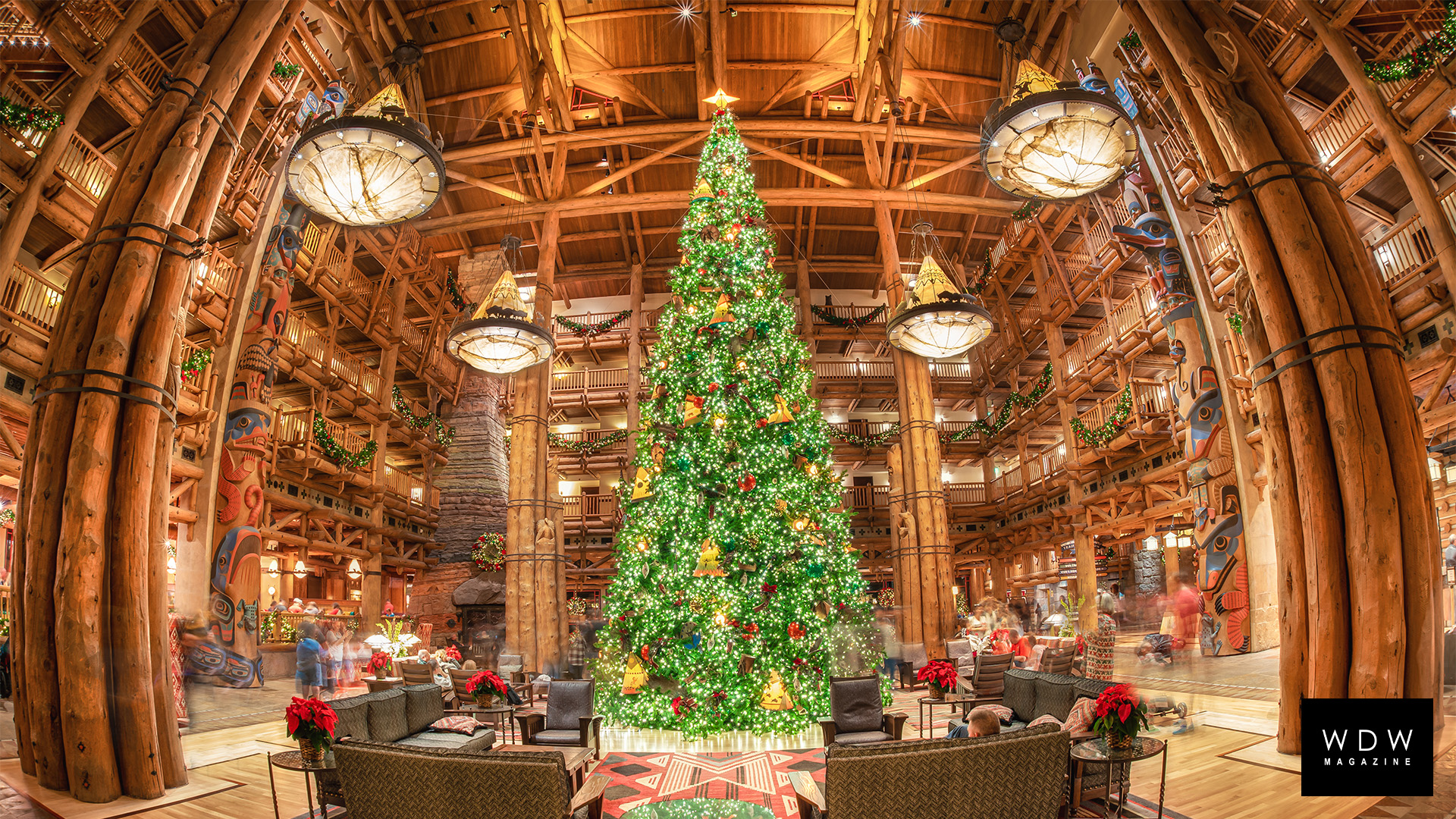 Download These Free Christmas Disney World Zoom Backgrounds
