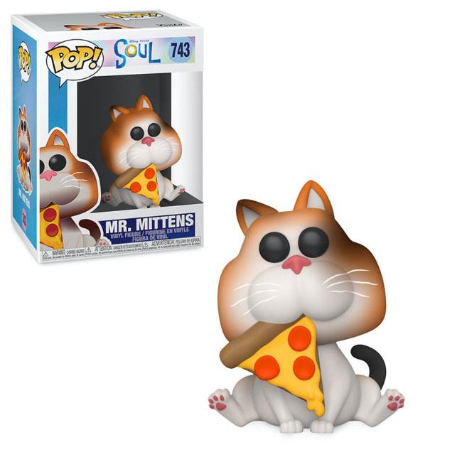 Disney Pixar Soul Mr Mittens Joe Funko Pop