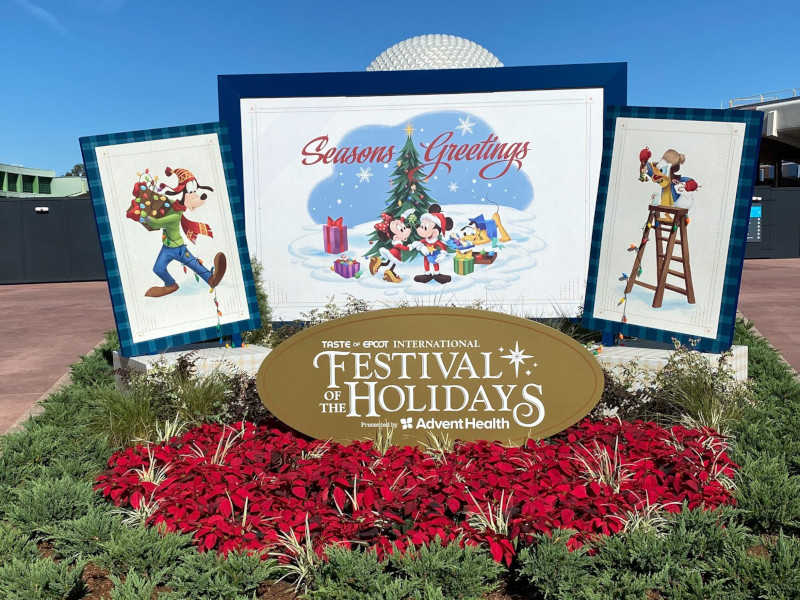What's New at EPCOT's Festival of the Holidays in 2020