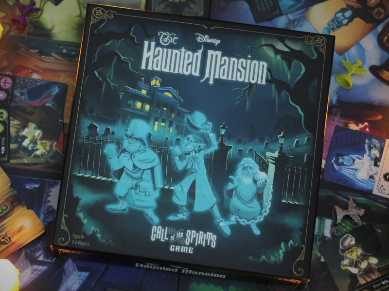 The Haunted Mansion: Call of the Spirits game box: here's our review