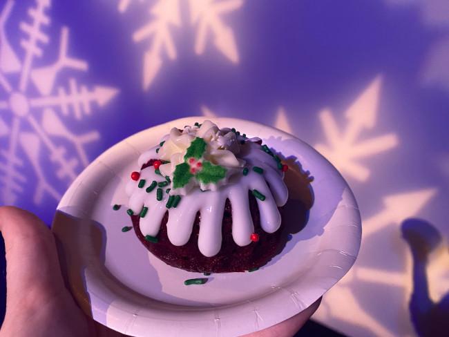 The Red Velvet Mini Bundt Cake