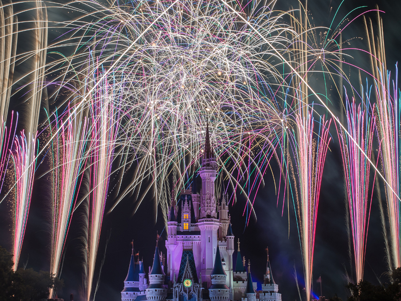 New Years Eve at Walt Disney World