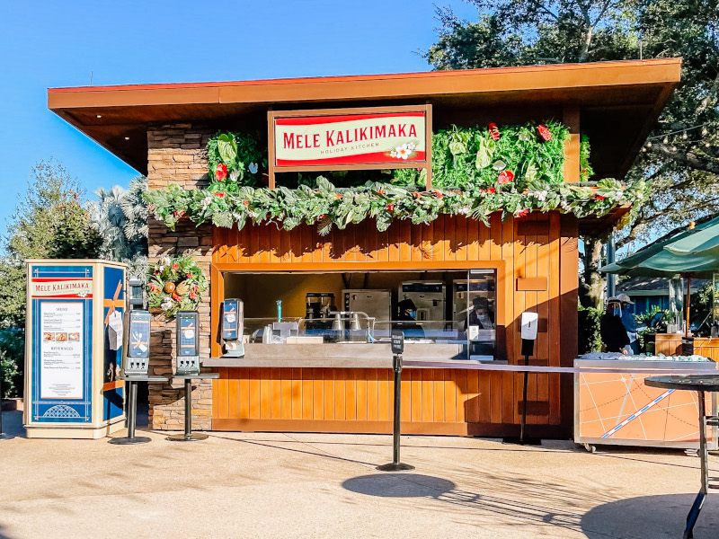 Mele Kalikima Holiday Kitchen Booth