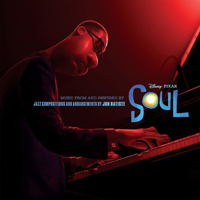 The cover to Jon Batiste's original jazz compositions for Soul