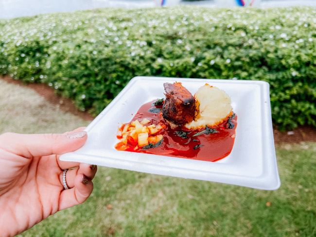Pork Belly Pastor at the 2021 EPCOT Festival of the Arts