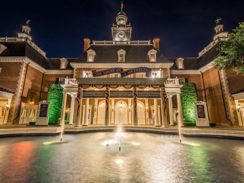 American Adventure Pavilion at EPCOT Featured Wang