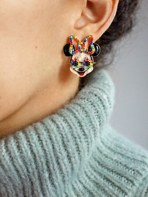 Minnie Mouse Rainbow Studs 2