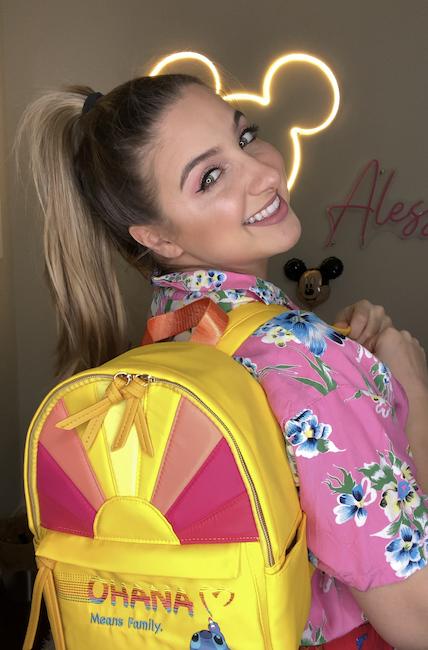 Ohana Backpack- Danielle Nicole Stitch Bags