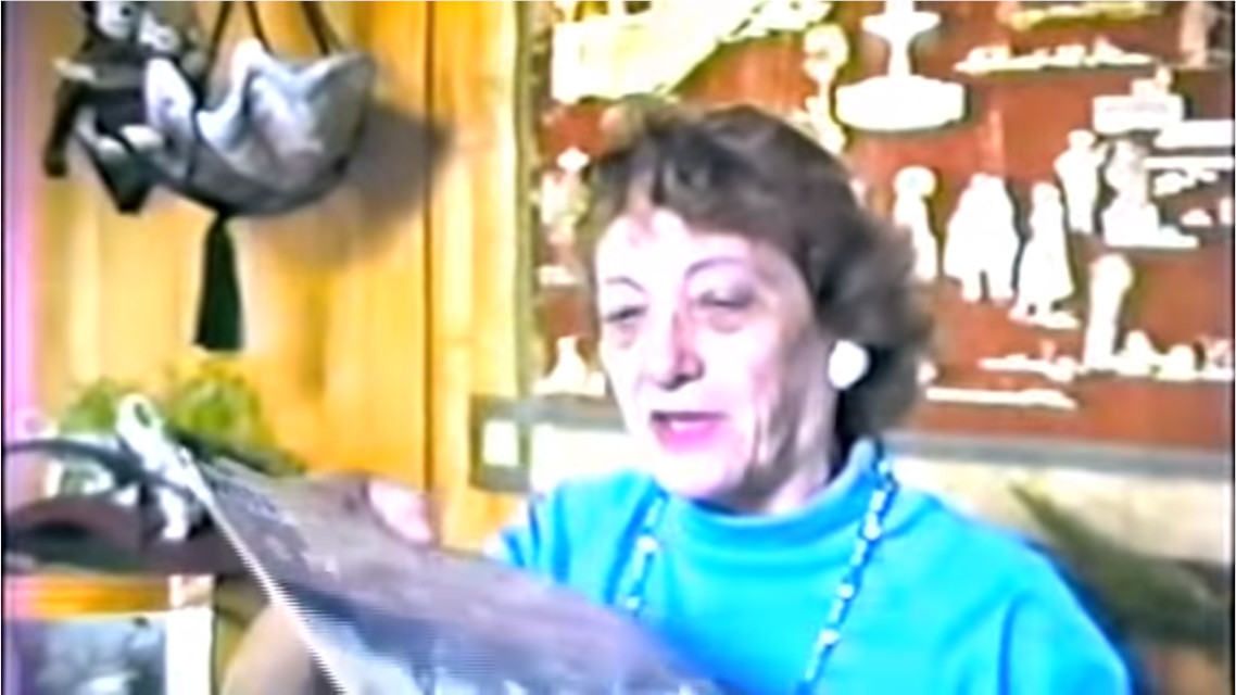 Adriana Caselotti in 1992