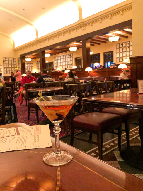 Hollywood Manhattan at the The Hollywood Brown Derby