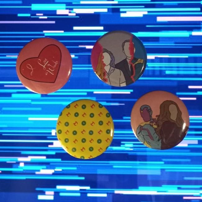 wandavision buttons