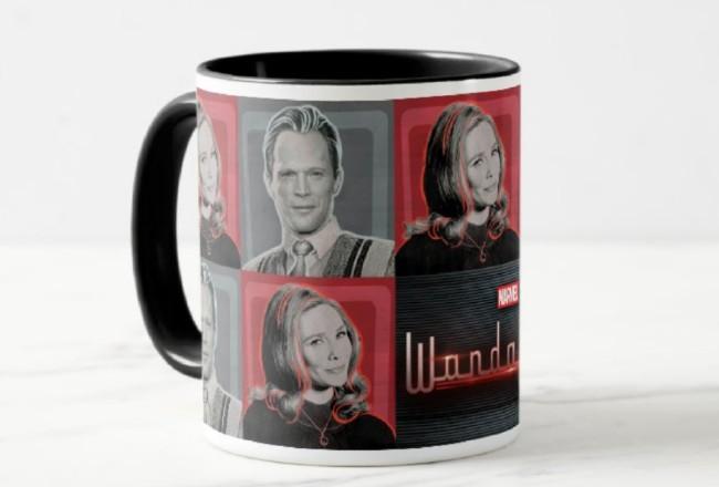 wandavision coffee mug from zazzle