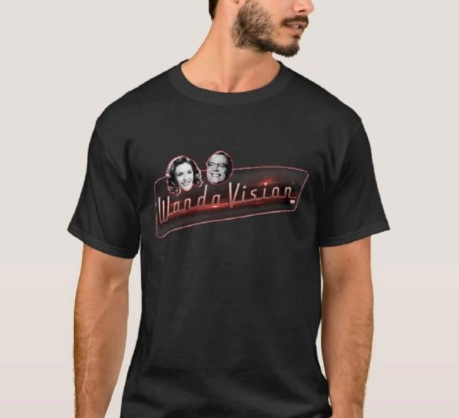wandavision customizable shirt for adults on shopdisney WandaVision Merch