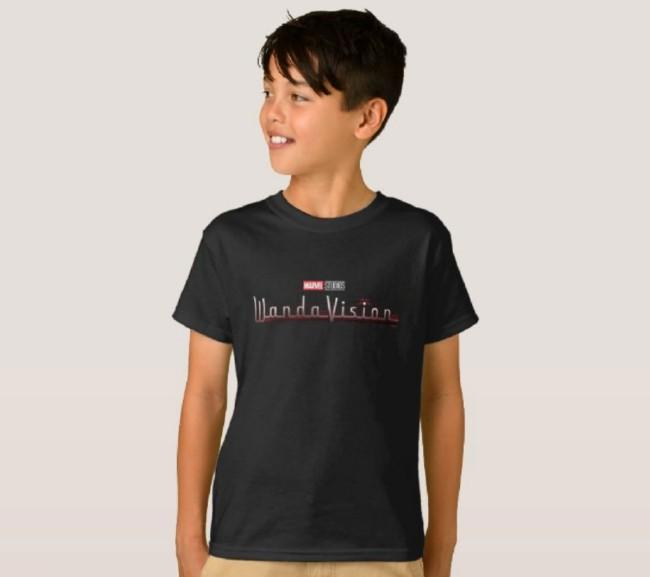 wandavision customizable shirt for kids on shopdisney