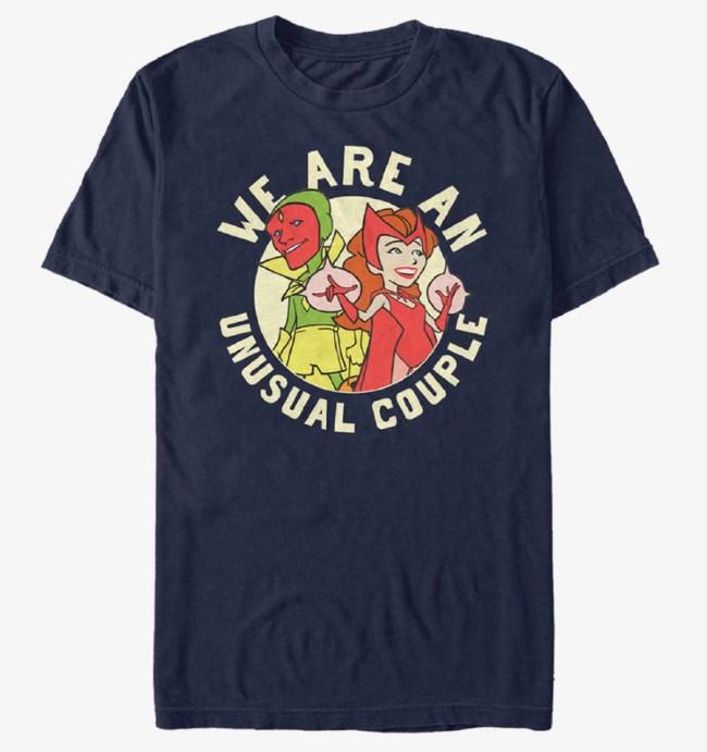 we are an unusual wandavision couple t-shirt