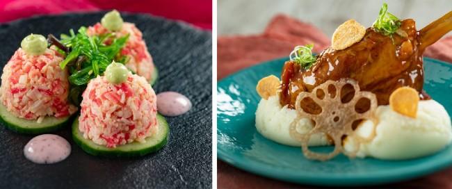 2021 flower and garden menu items at hanami kitchen