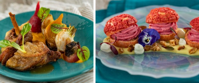 new farmers feast booth menu options at Flower and Garden Festival menus