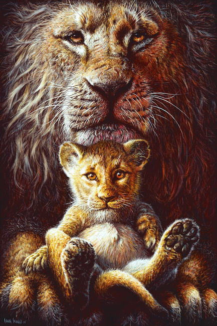 lion king artwork by craig skaggs