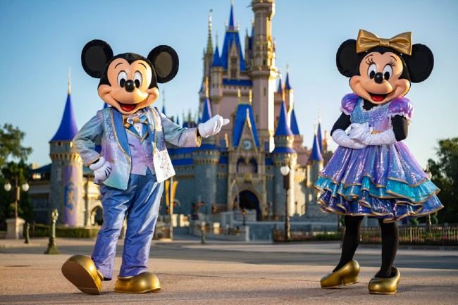 mickey and minnie 50th anniversary costumes