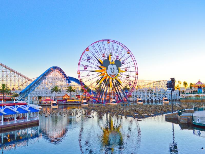A view of Disney's California Adventure