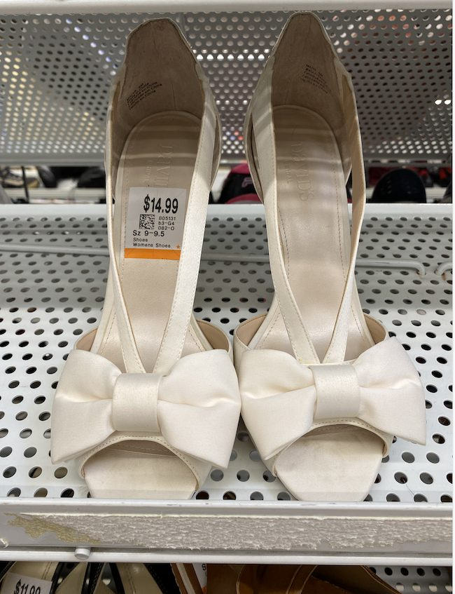 Thrift shop shoes - Disneybounding How to Disneybound